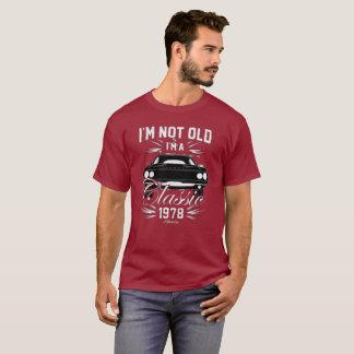 No soy viejo yo soy coches de la camiseta 1978 del