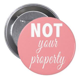 NO su botón de la propiedad