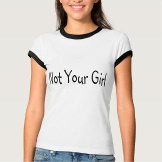 No su chica camisetas