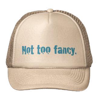 No también suposición gorras