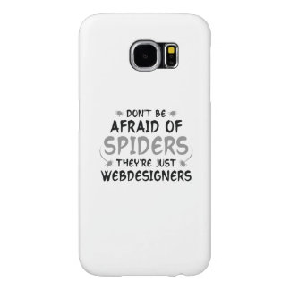 No tenga miedo de arañas funda samsung galaxy s6