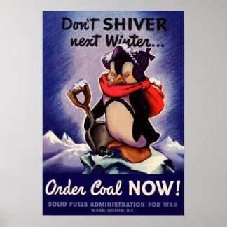 ¡No tiembla el poster siguiente del invierno!