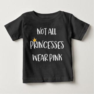 No todas las princesas Wear Pink Camiseta De Bebé