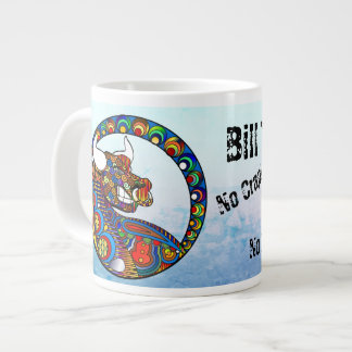 ¡No tome ninguna mierda, Bull, X@?!! Taza de café