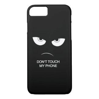 No toque mi teléfono - funda protectora
