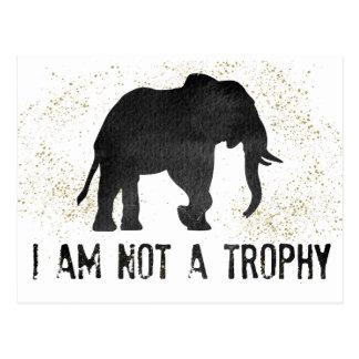 No una postal de la protesta del elefante del