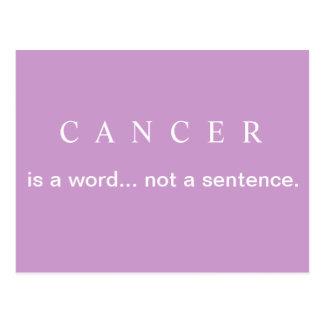 NO una postal del cáncer de pecho de la FRASE
