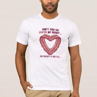 No va el tocino mi camiseta del corazón