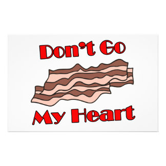 No va el tocino mi corazón papeleria de diseño
