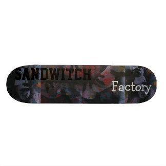 no vea ninguna fábrica no probar ningún sandwitch tabla de patinar