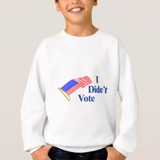 No voté sudadera