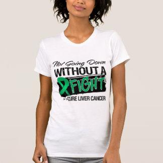 No yendo abajo sin una lucha - cáncer de hígado camisas