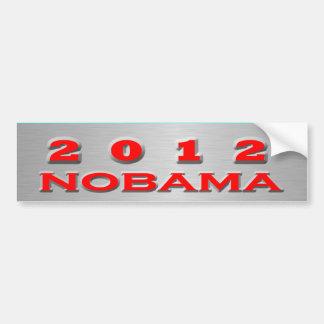 Nobama 2012 etiqueta de parachoque
