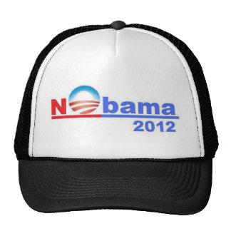 Nobama - ningún Obama 2012 Gorro De Camionero