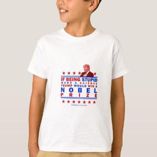 Nobel estúpido camiseta
