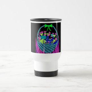 noche con sabor a fruta taza de café