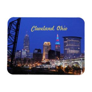 Noche de Cleveland en el imán de la ciudad