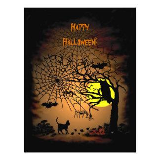 ¡Noche de Halloween, feliz Halloween! Folleto 21,6 X 28 Cm