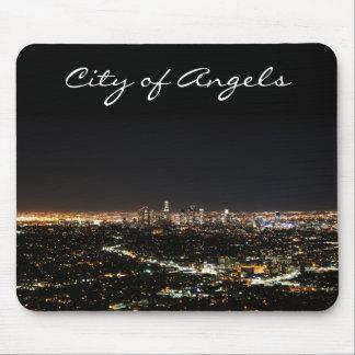 Noche de Los Ángeles Alfombrilla De Ratón