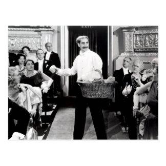 Noche de los hermanos de Groucho Marx en la postal