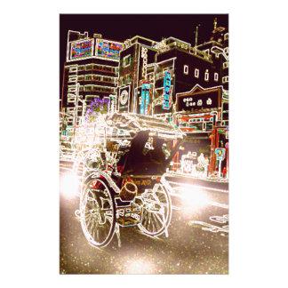 Noche de Tokio Rickshw Papelería
