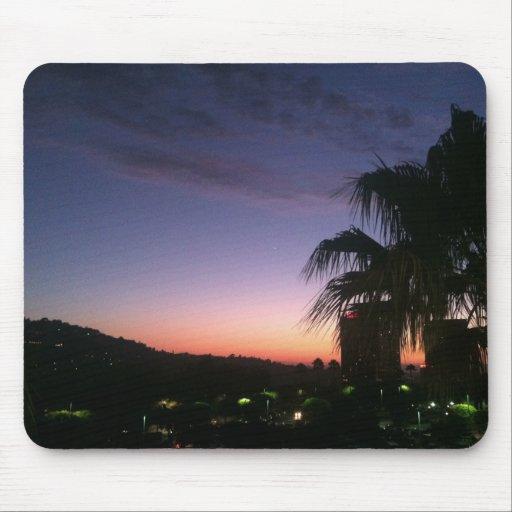 Noche de verano en Los Ángeles Alfombrilla De Ratón