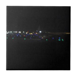 Noche del la del en de La Paz Azulejo Cuadrado Pequeño