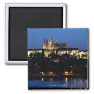 Noche en Praga, República Checa Iman Para Frigorífico