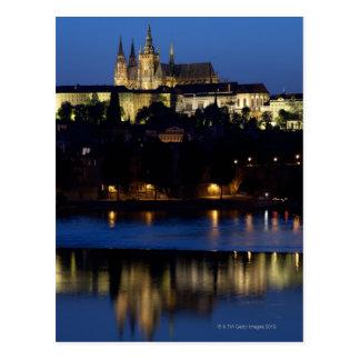 Noche en Praga, República Checa Postal