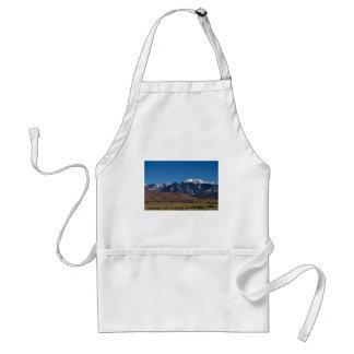 Noche estrellada de las dunas de arena de Colorado Delantal