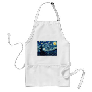 Noche estrellada de Vincent van Gogh Delantal