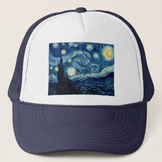 Noche estrellada de Vincent van Gogh Gorra De Camionero