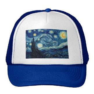 Noche estrellada de Vincent van Gogh Gorras De Camionero