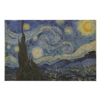 Noche estrellada de Vincent van Gogh Cuadros De Madera
