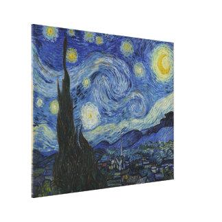 Noche estrellada de Vincent van Gogh Impresión De Lienzo