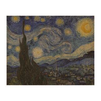 Noche estrellada de Vincent van Gogh Impresión En Corcho
