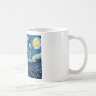 Noche estrellada de Vincent van Gogh Taza De Café