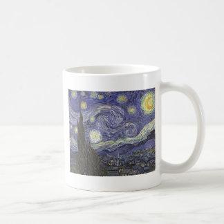 Noche estrellada taza de café