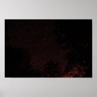 Noche estrellada, Virginia Occidental Póster
