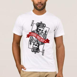 Noche eterna del póker camiseta