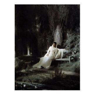 Noche iluminada por la luna de Ivan Kramskoy- Postal