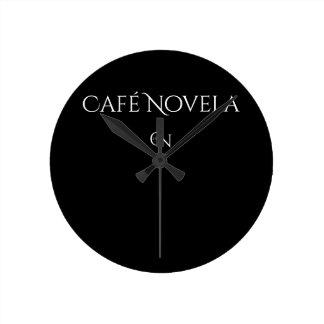 Noche (media) redonda del reloj de pared de Café