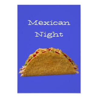 Noche mexicana comunicado personal