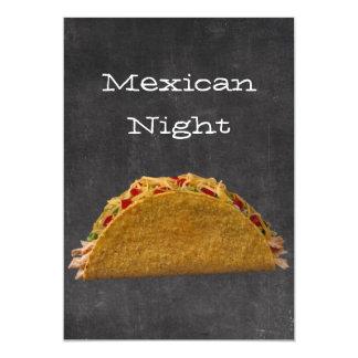 Noche mexicana anuncio personalizado