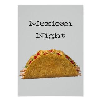 Noche mexicana comunicados