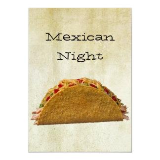 Noche mexicana comunicado