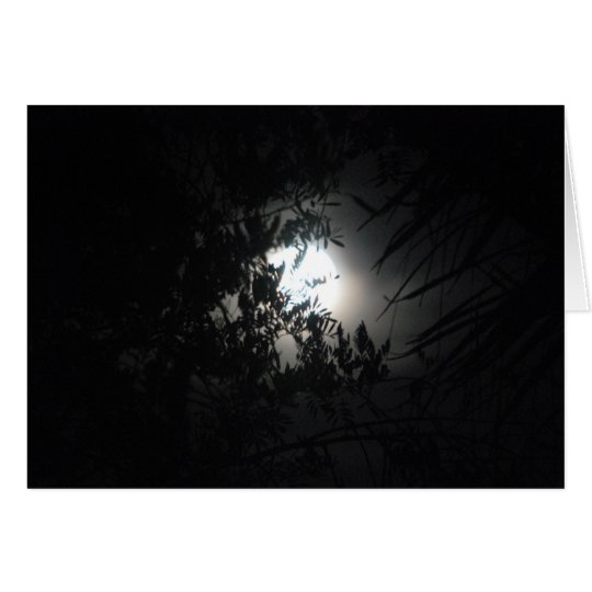 Noche misteriosa #1 tarjeta de felicitación