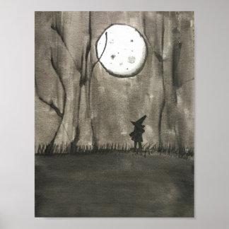 Noche negra póster