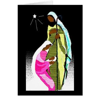 Noche santa tarjeta