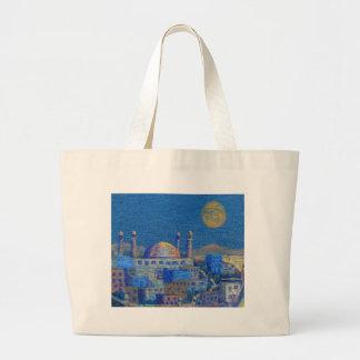 Noches árabes bolsa tela grande
